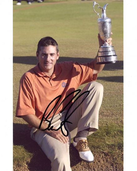 Ben Curtis, Open Champion 2003, signed 10x8 inch photo.